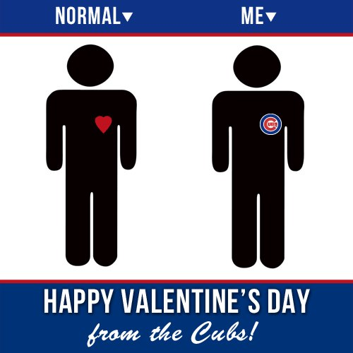 Happy Cubs Valentine's Day