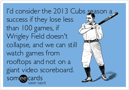 My Wishes For The 2013 Cubs Season